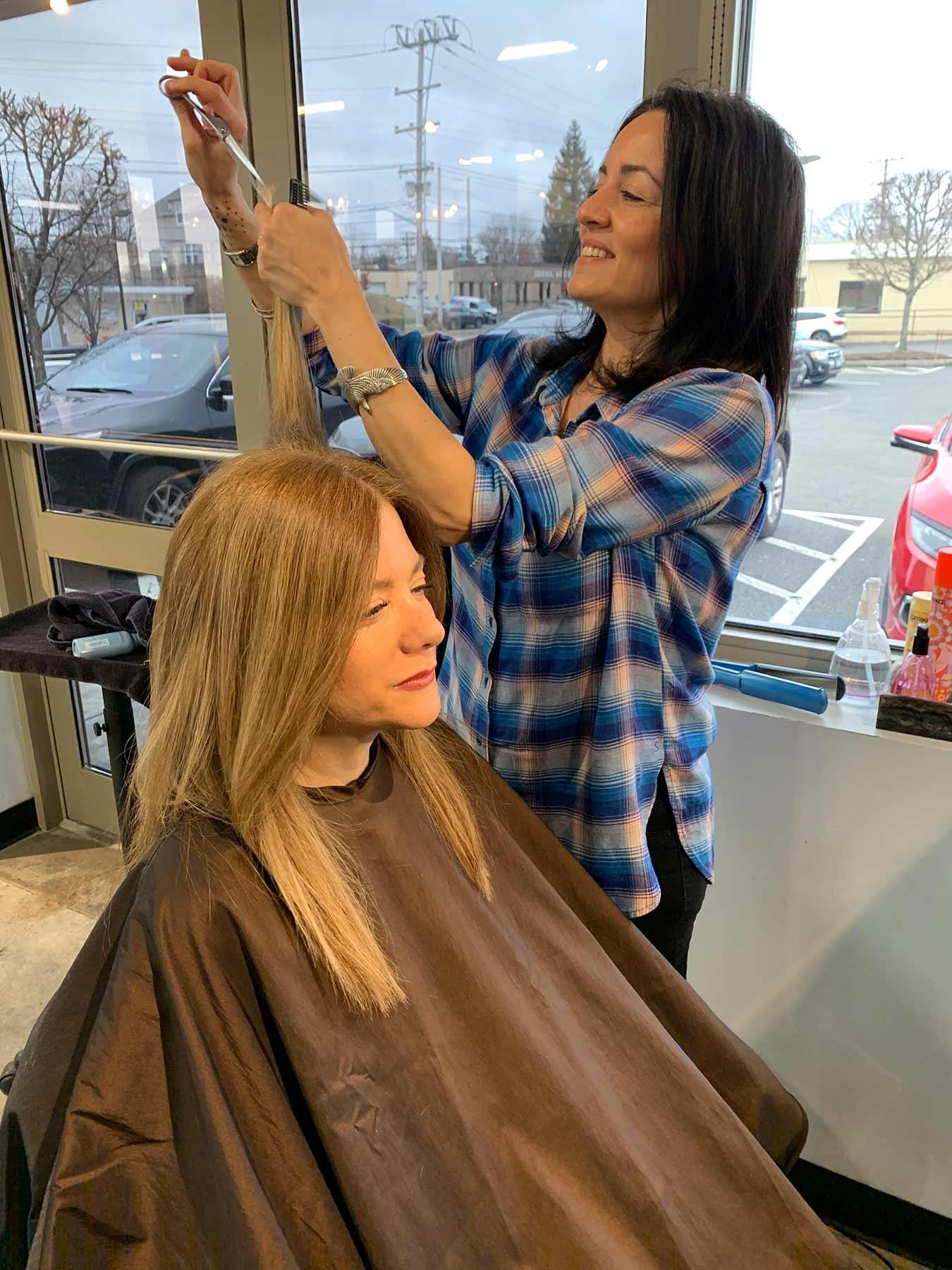 Tara Siani-Shanahan, Hair Stylist in Providence, RI